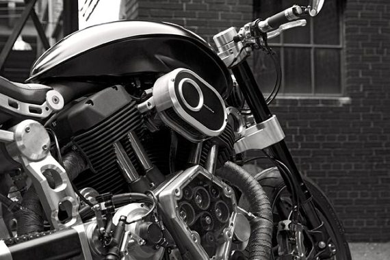 Confederate Motorcycle Hellcat via Groupe FG Design