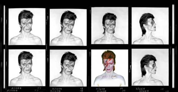 Pellicule photo David Bowie via Groupe FG Design